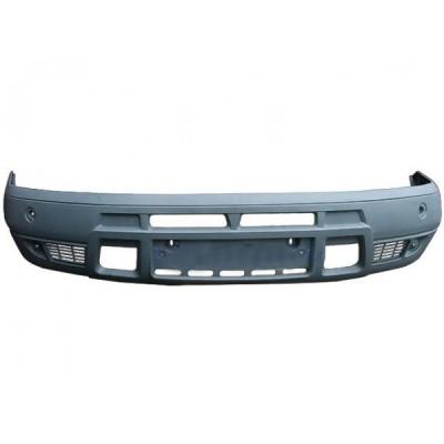 Бампер передний (серый) н/о ГАЗ-2705 (Технопласт)