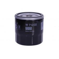 Фильтр масляный (Mann W712/75) Daewoo Lanos 1, 5/Lacetti