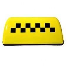 Блок-шашка 'ТАКСИ' (желтый/черный/белый/оранжевый/зеленый) (Украина)