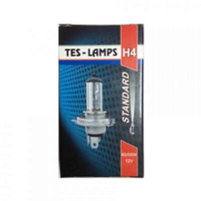 Лампа галогенная 12V 60/55w P43t-38 H4 (Tes-Lamps)