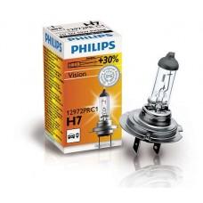 Лампа галогенная Philips Premium +30 H7 12v 55W PX26d