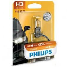 лампа галогенная Philips Vision +30% 12V 55WPK22s H3