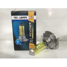 Лампа галогенная 12V 55w H7 (Tes-Lamps) (All Weather) 108659