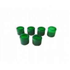 Вкладыши рулевых наконечников Москвич-412-2140 (зеленые) (Украина)