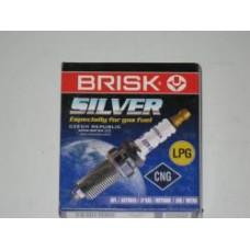 Свечи зажигания (4 шт.) ГАЗ-402 (Brisk Silver LR17YS.4k) 5111