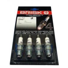Свечи зажигания (4 шт.) ГАЗ-402 (Brisk N17.4B Super) 5105