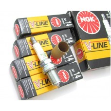 Свеча зажигания (4 шт.) (NGK-V-line №14) 7867