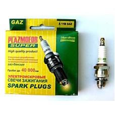 Свеча зажигания (4 шт.) ПФА 11М GAZ (Plazmofor)