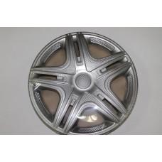 Колпаки колесные декоративные (комплект 4 шт.) R14 (Дакар светлый) (Star)