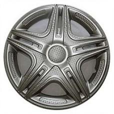 Колпаки колесные декоративные (комплект 4 шт.) R15 (Дакар светлый) (Star)