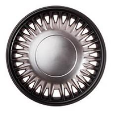 Колпаки колесные декоративные (комплект 4 шт.) R15 (Комаро темный) (Star)
